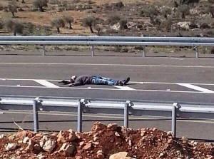 Mohammed Mahmoud Mubarak, un palestino de 20 años al que las fuerzas israelíes de ocupación han asesinado esta mañana cerca de Ramallah