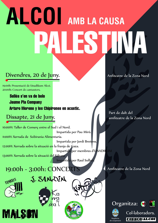 Cartell Festi-Palestina