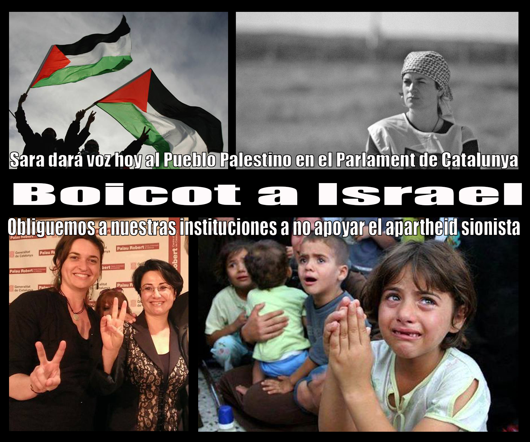Sara voz de Palestina