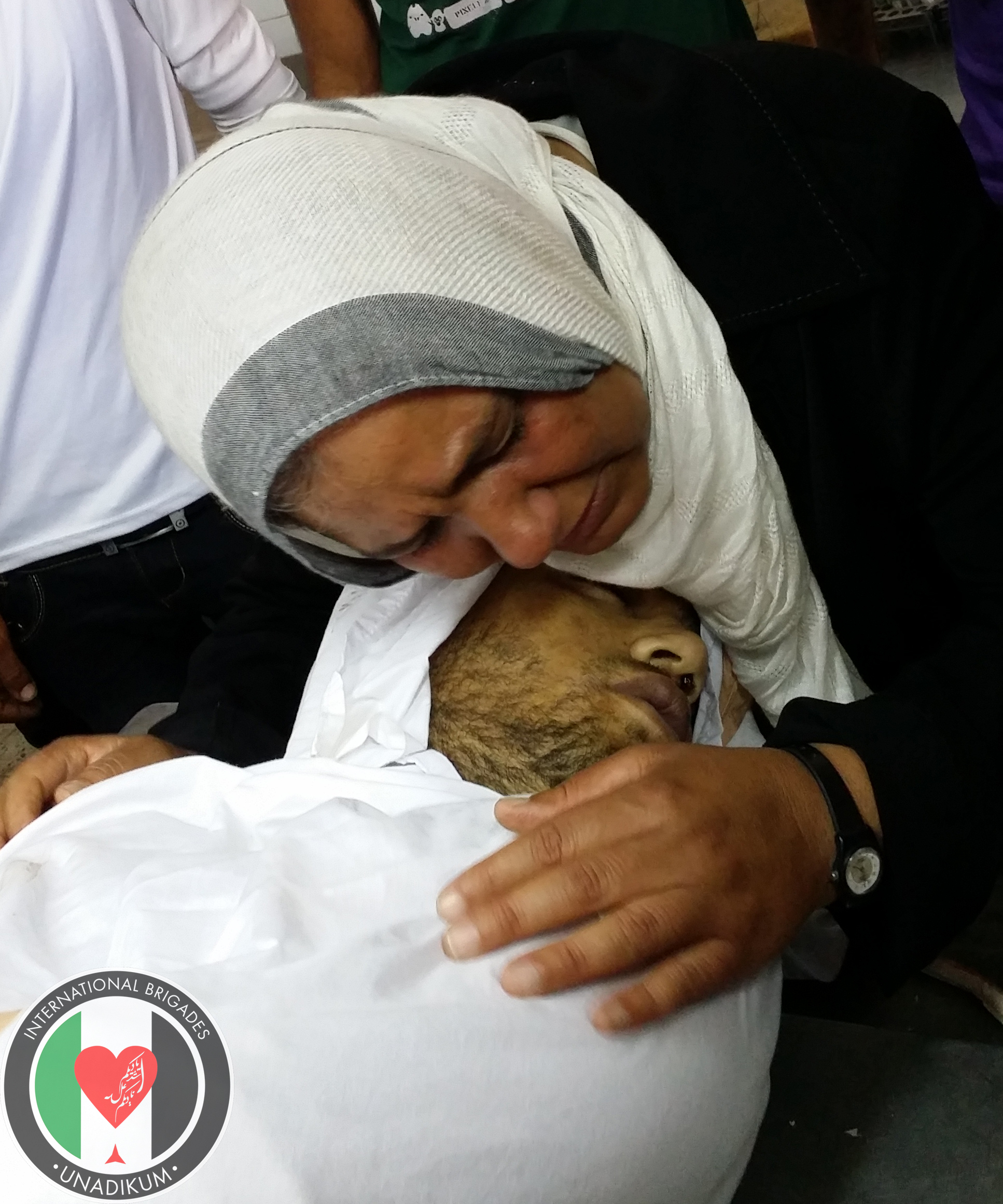 Madre de Mártir Amjad Zaher Hamdan