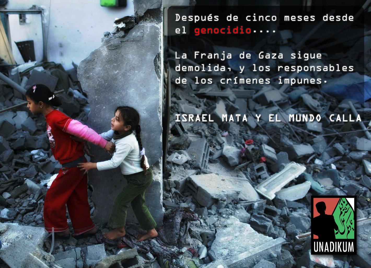 Gaza demolida